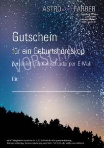 Astrologie Gutschien
